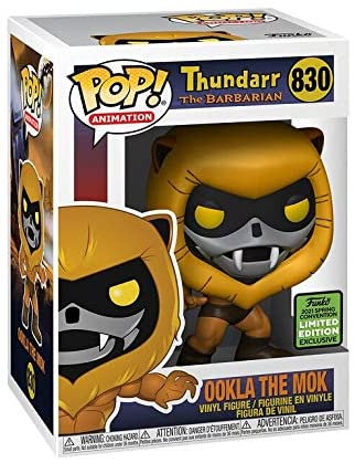 Pop Animation Thundarr The Barbarian 3.75 Inch Action Figure Exclusive - Ookla The Mok #830