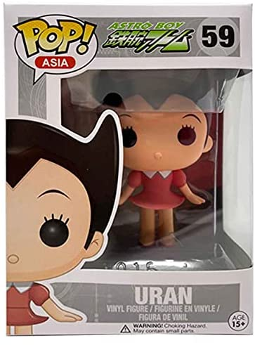 Pop Asia! Astro Boy # 59 Uran Vinyl Pop! Vaulted!