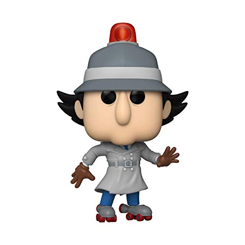 Pop Funko Animation: Inspector Gadget – Inspector Gadget with Skates Vinyl Figure – Funko Shop Exclusive