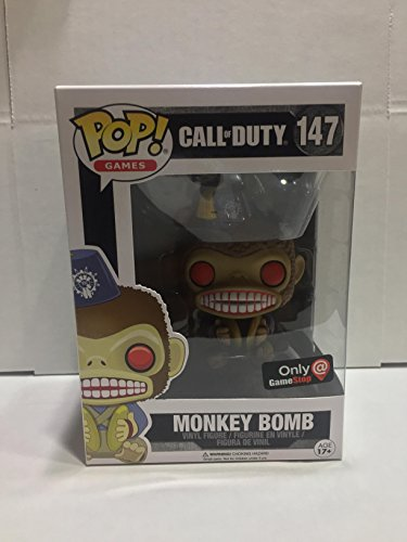 Pop Funko Call of Duty Monkey Bomb GameStop Exclusive