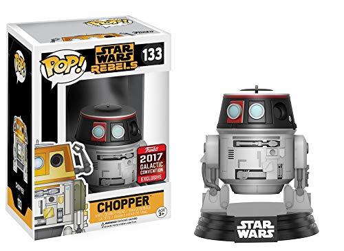 Pop Funko Star Wars Rebels Chopper #133 (2017 Star Wars Galactic Convention Exclusive)