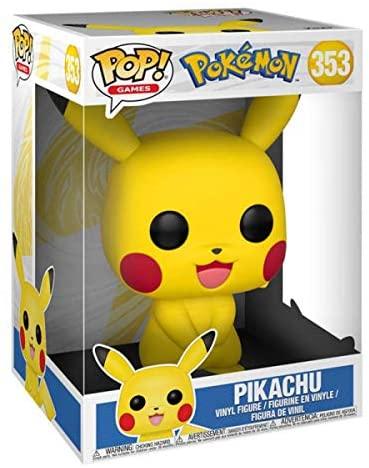"""Pop Games: Pokemon S1- 10"""" Pikachu"""