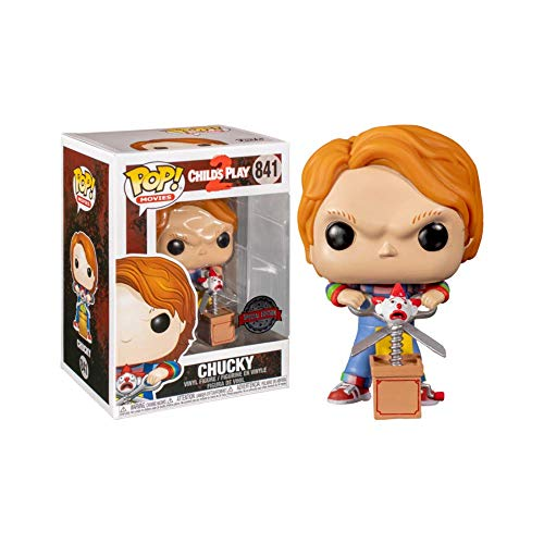 Pop Movies 3.75 Inch Action Figure Child's Play 2 - Chucky With Buddy & Scissors #841