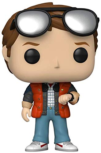 Pop! Movies Back to The Future Marty Checking Watch
