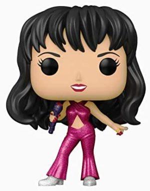 Pop! Rocks: #205 - Selena [Burgundy Diamond Glitter]