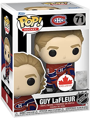 Pop Sports NHL Hockey 3.75 Inch Action Figure - Guy Lafleur #71
