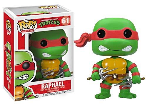 Pop Television 3.75 Inch Action Figure Teenage Mutant Ninja Turtles - Raphael #61
