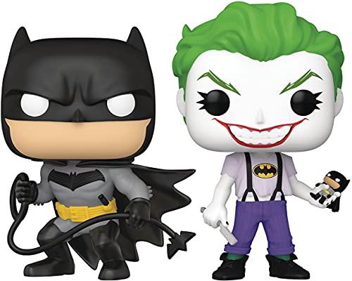 San Diego Comic-Con 2021 Exclusive Pop! DC Heroes: Batman White Knight: Batman & Joker Vinyl Figure 2-Pack