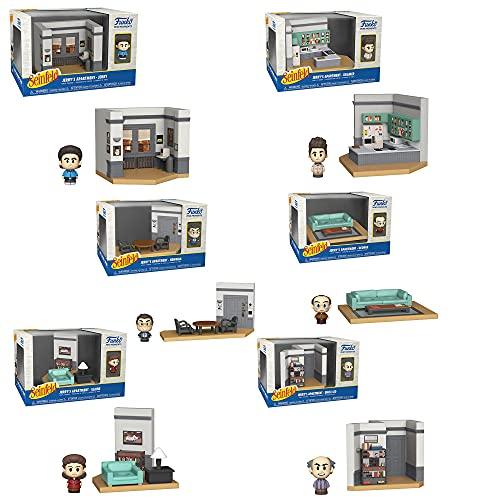 Seinfeld Pop Vinyl Mini Figure Diorama Complete Set (6)