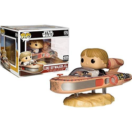 Star Wars Luke Skywalker with Speeder PoP! Figure Smugglers Bounty Exclusive #175
