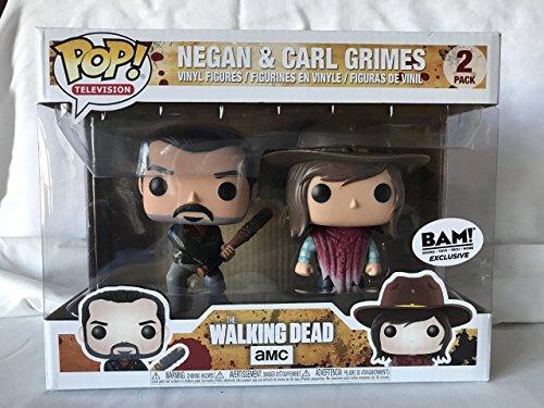 The Walking Dead Pop! Vinyl 2 Pack - Negan and Carl Grimes Funko