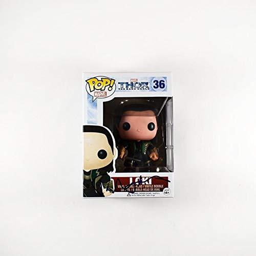 Tom Hiddleston Thor Avengers Loki Number 36 Signed Funko Pop Certified Authentic PSA/DNA COA